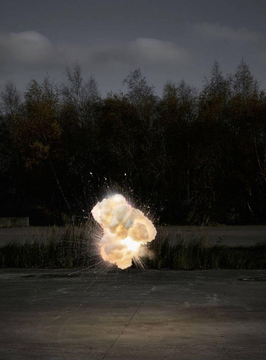 Prachtige foto's van explosies