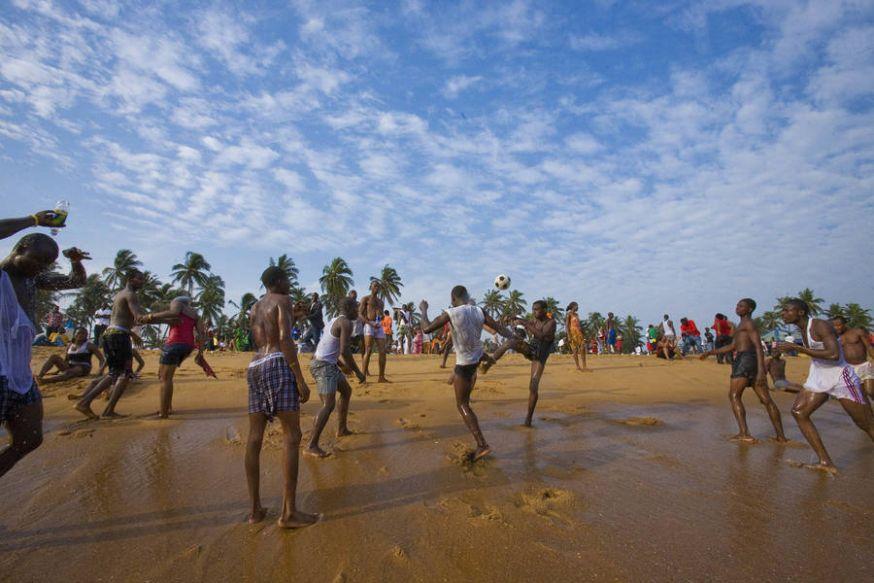 De voetbal cultuur in Nigeria