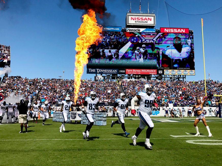iPhone 7 foto's NFL