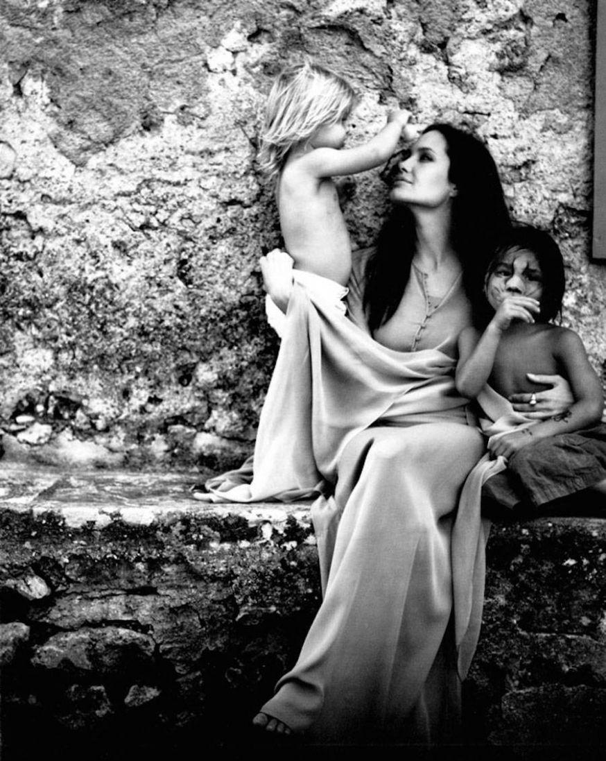Brad Pitt maakt intieme foto's van zijn gezin