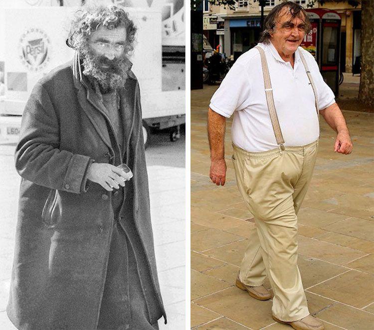Foto's nagemaakt na 40 jaar