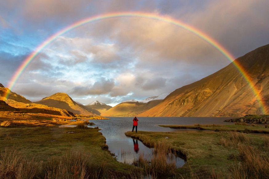 © Mark Gilligan - Finding Gold, Wast Water, Cumbria, Engeland