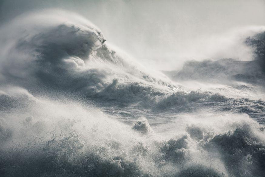 © Rachael Talibart - Maelstrom, Storm Imogen, Newhaven, oost Sussex, Engeland