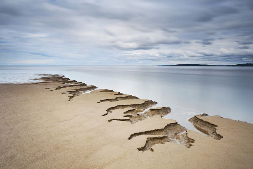 © Tony Higginson - Shifting sands, Silverdale, Lancashire, Engeland