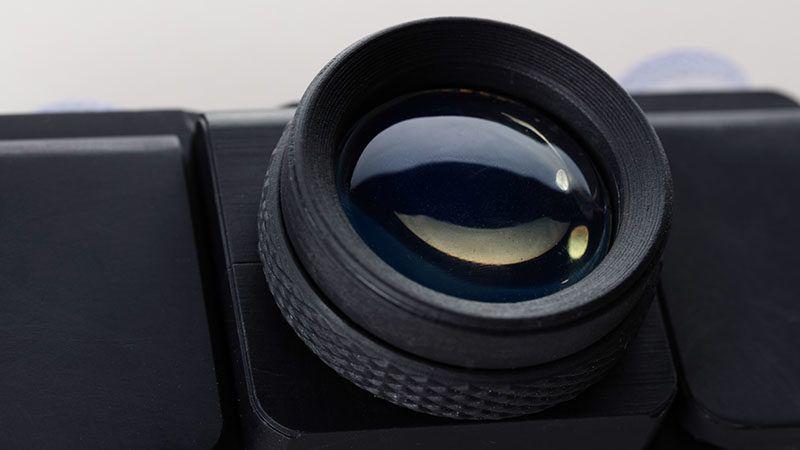 3D geprintte camera SLO
