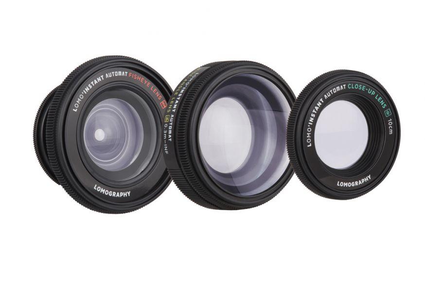 Lomo'Instant Automat lenses