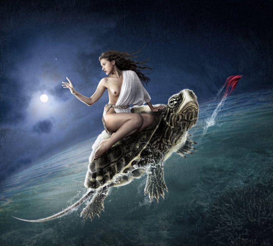 Sprookjesachtige beelden van Dmitry Laudin