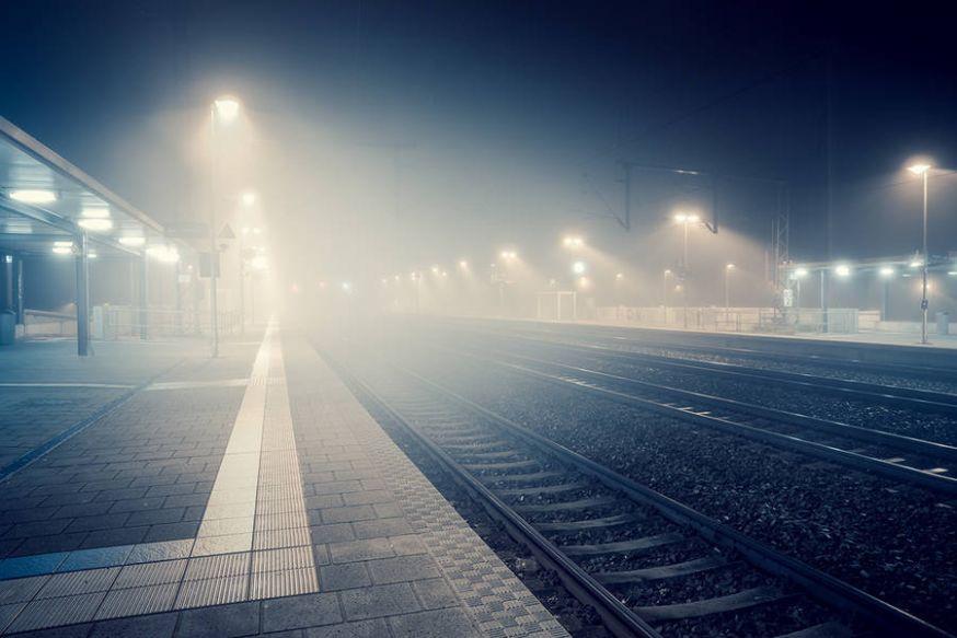 Mysterieuze lichten in de mist