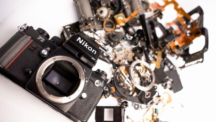 Nikon F3 macro