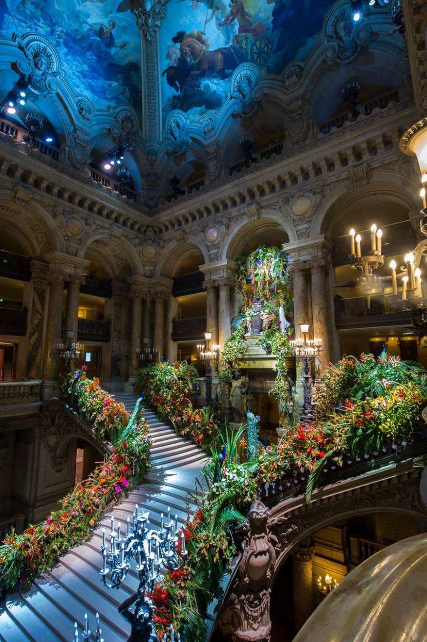 Prachtige foto's van Opéra Garnier