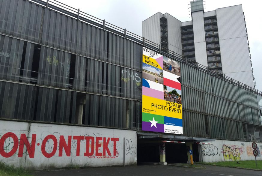 pop-up tentoonstelling streets of the world