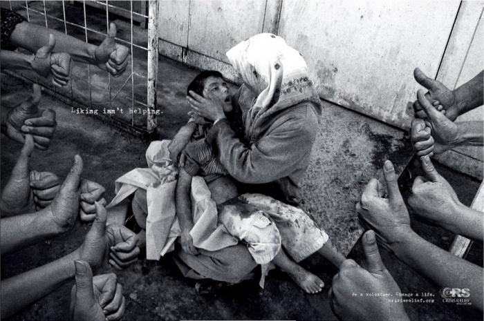 10 schokkende foto's in advertenties