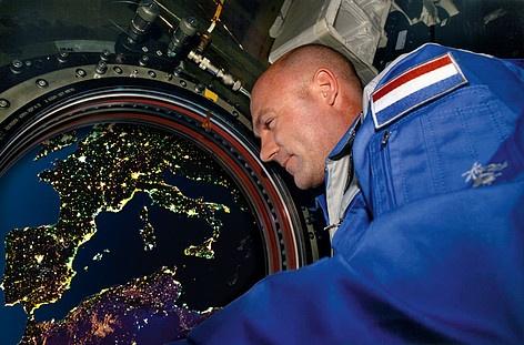 Expositie: ruimtefoto's van André Kuipers