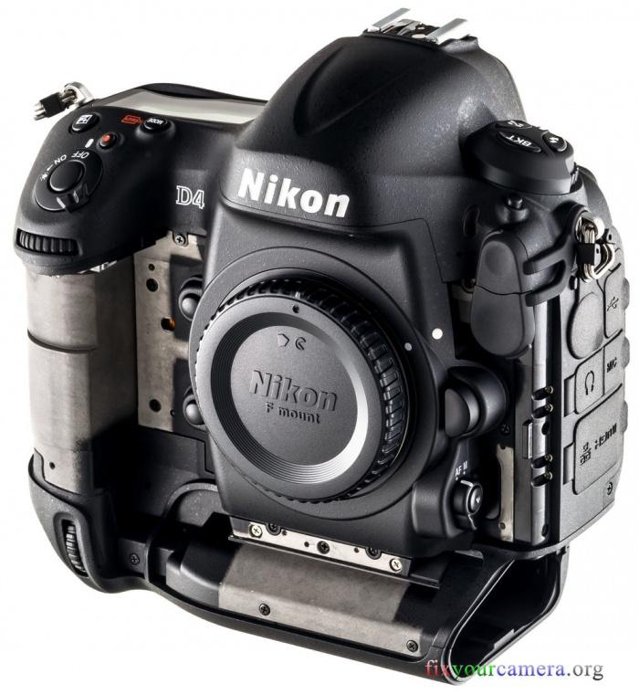 Nikon D4 teardown