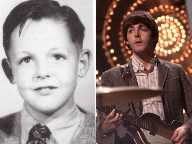 10 verrassende jeugdfoto's van popmuzikanten