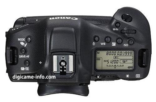 Canon EOS-1D X II specificaties