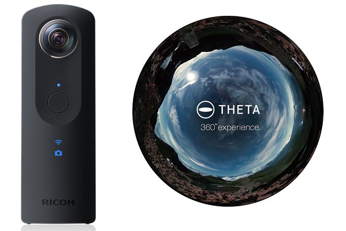 Ricoh Theta S 360° camera + VR Scope