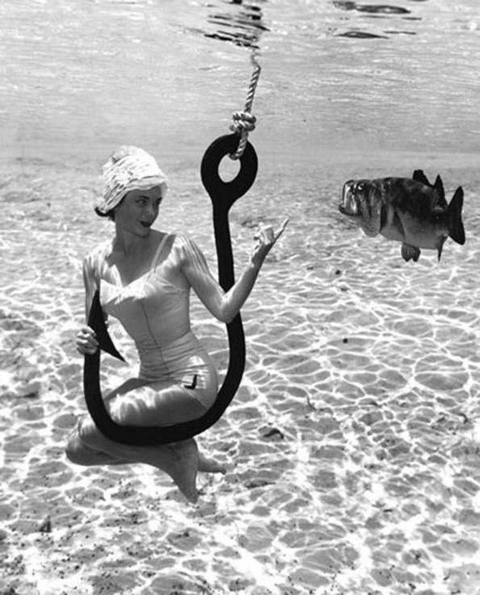 Onderwater fotografie uit 1938