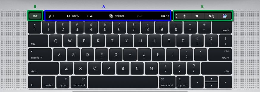 Touch Bar Photoshop