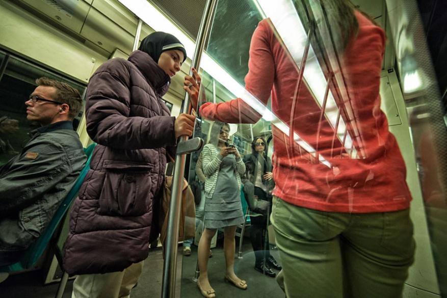 foto Rotterdam - Metro van Dick Akkerhuis op DIGIFOTO Pro