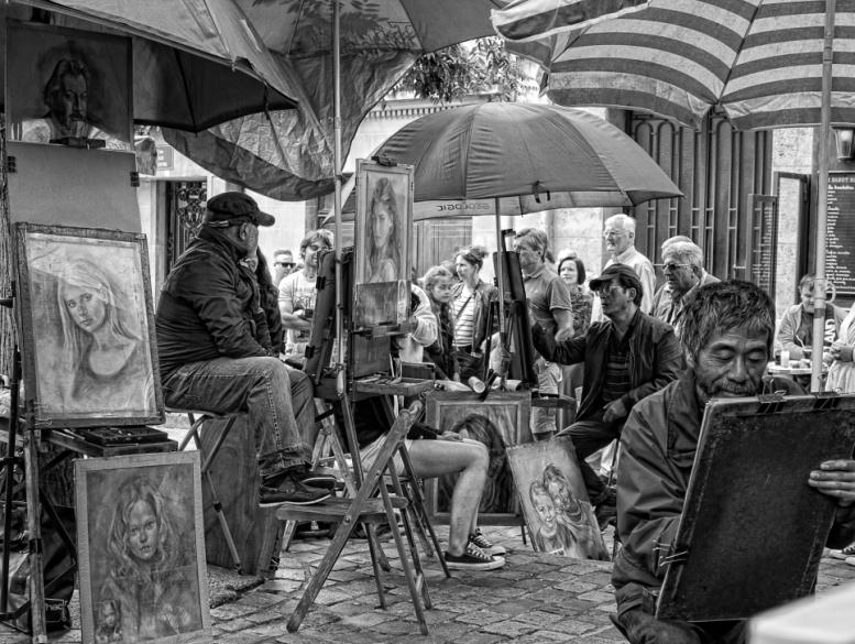 foto Montmartre Paris van Ivar Janssen op DIGIFOTO Pro