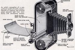 Retro - de eerste Polaroid camera