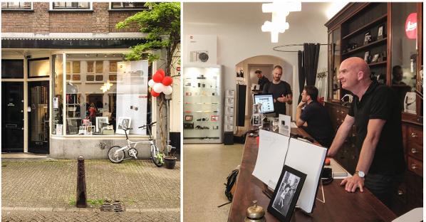 Alles Over Je Woonomgeving Op één Site: Op Bezoek Bij De Leica POP-UP STORE Amsterdam