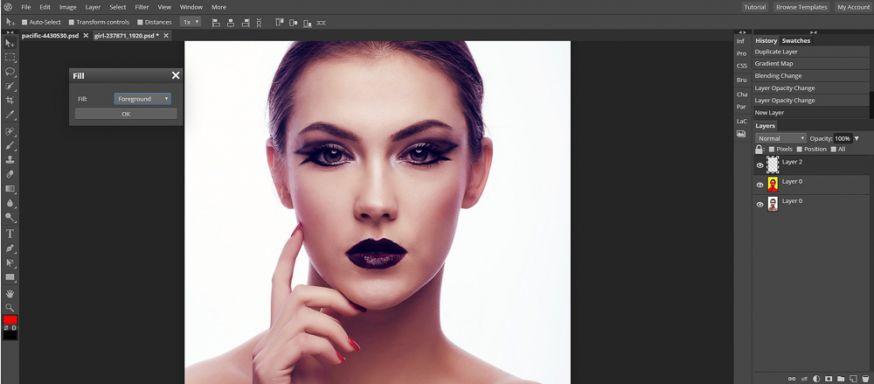 Gratis Photoshop Alternatief Pixlr Pro