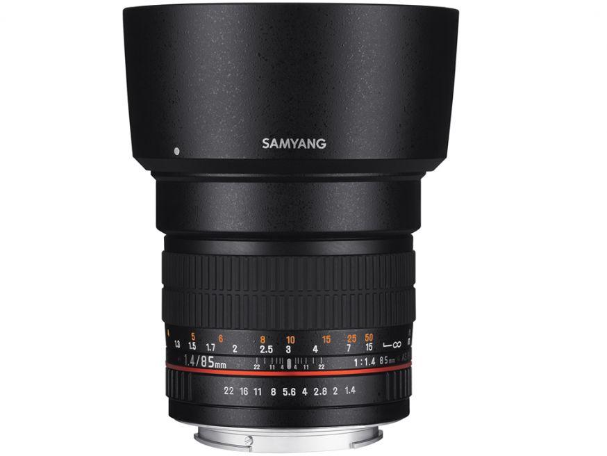 Samyang 85mm f/1.4 IF UMC