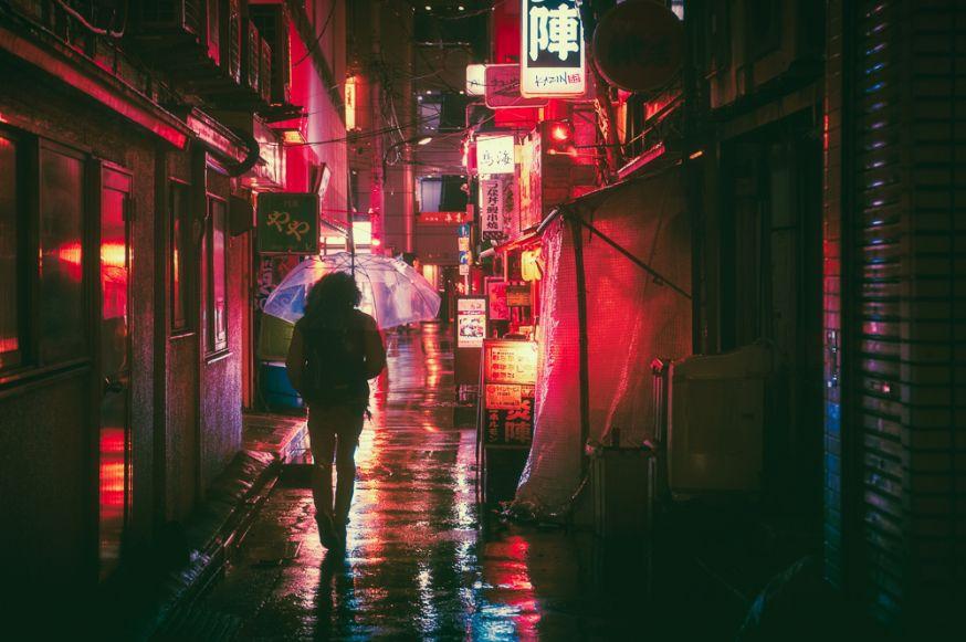reisfotografie in de nacht