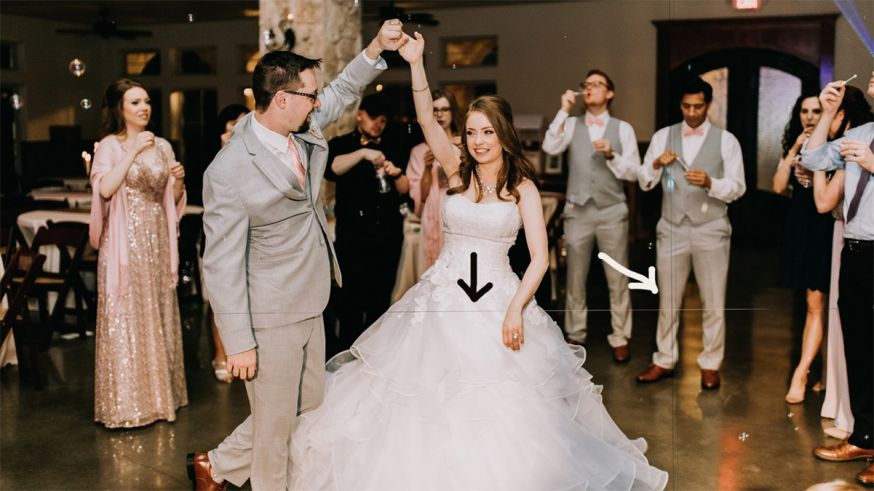 Bruidsfotograaf waarschuwt voor lasers