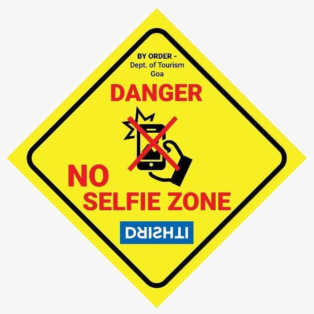 Levensgevaarlijke selfies 'no-selfie zones' ingesteld om fatale ongelukken te voorkomen