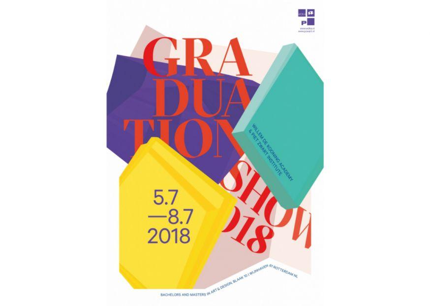 Graduationshow 2018, 4 - 8 juli Bezoek de afstudeerexpositie van Willem de Kooning Academy en Piet Zwart Instituut