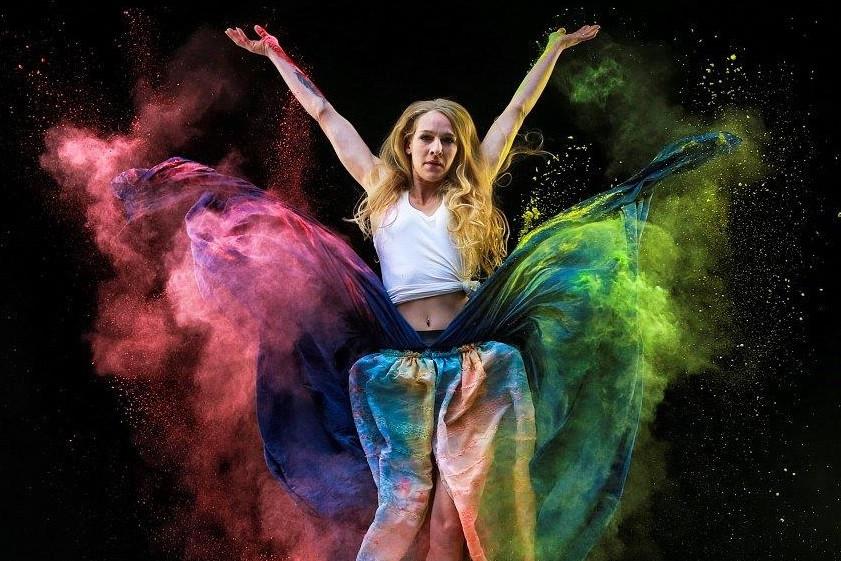 fotofair 2021, Fotofair, workshop, leren, Masterclass, meelfotografie, gekleurde meelfotografie, meel, gekleurde meel