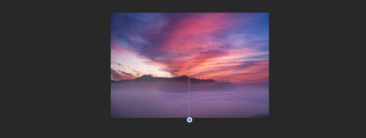Verloop tool Lucht vervangen Photoshop