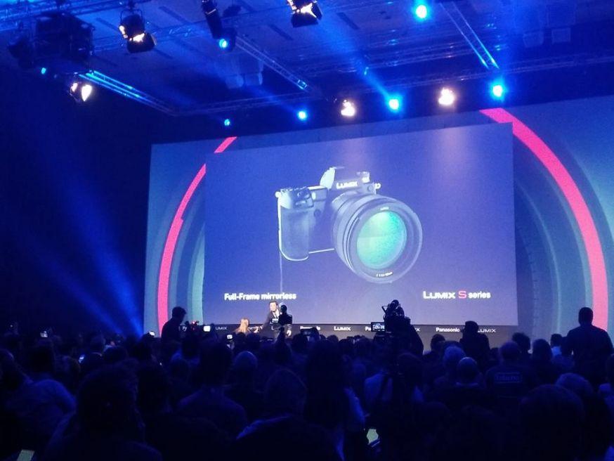 panasonic full frame spiegelloos camerasysteem