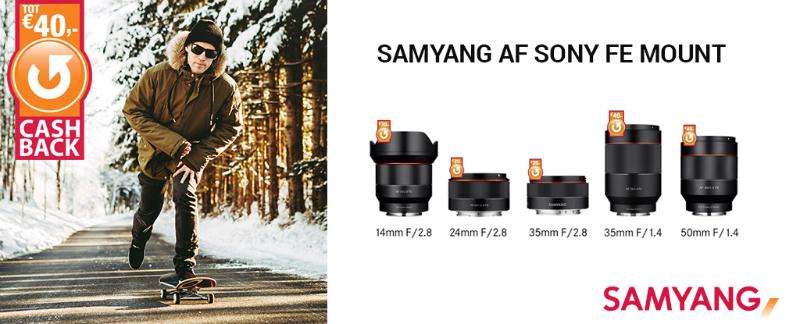 Tamron en Samyang Winter Cashback