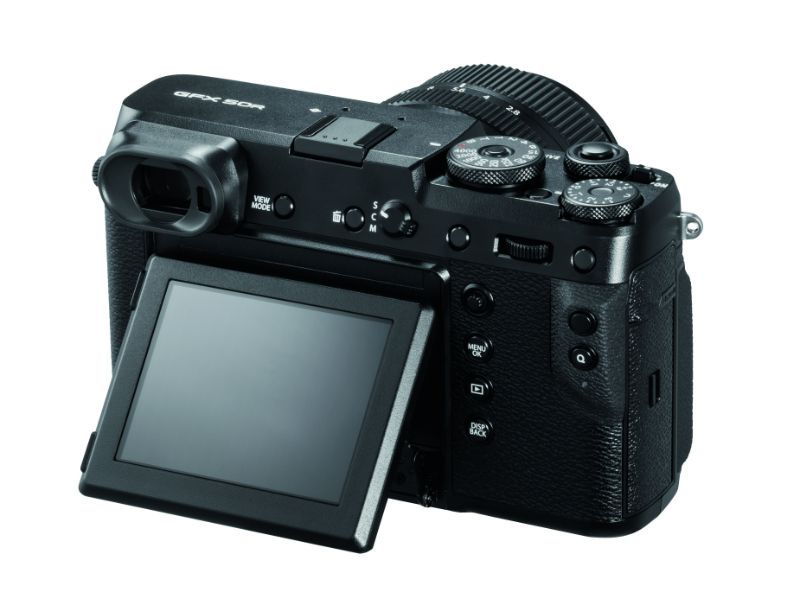 Fujifilm middenformaat camera