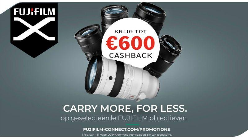 Fujifilm X-Serie cashback