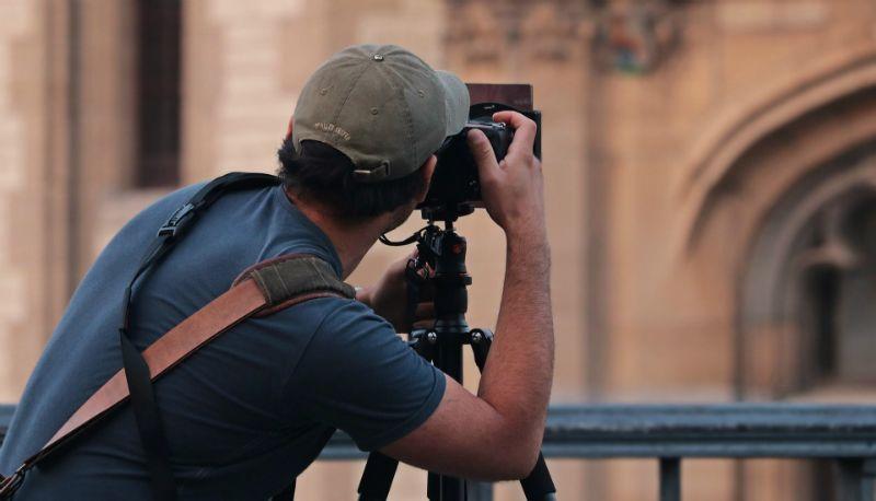 professioneel fotograaf