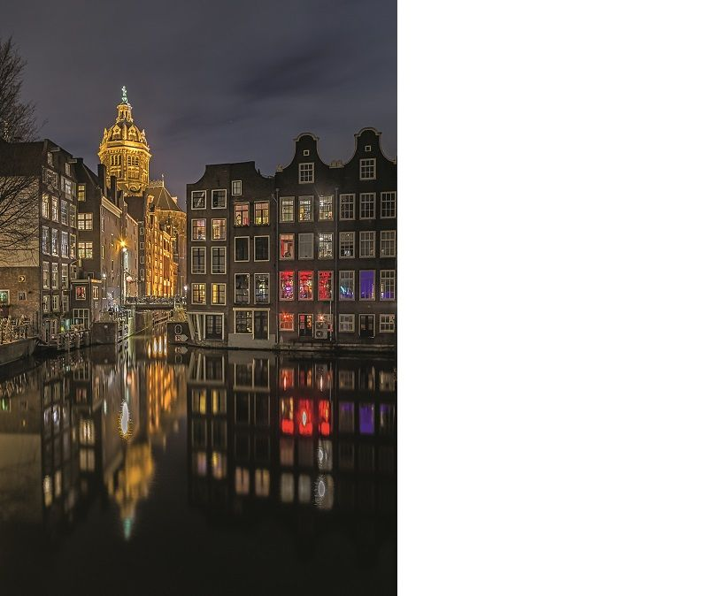arnoud van de weerd spotlight amsterdam by night