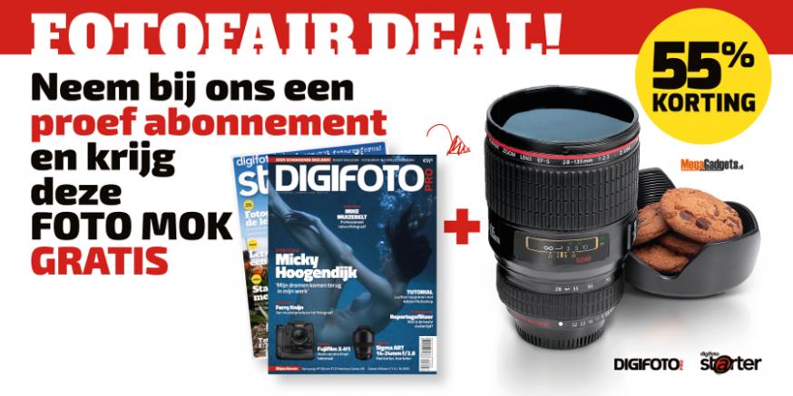 digifoto pro en starter op de fotofair 26 en 27 mei in hilvarenbeek met abonnementskorting en winacties
