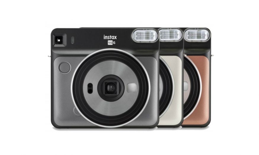 Fuijifilm nieuwe Instax SQ6 analoge camera