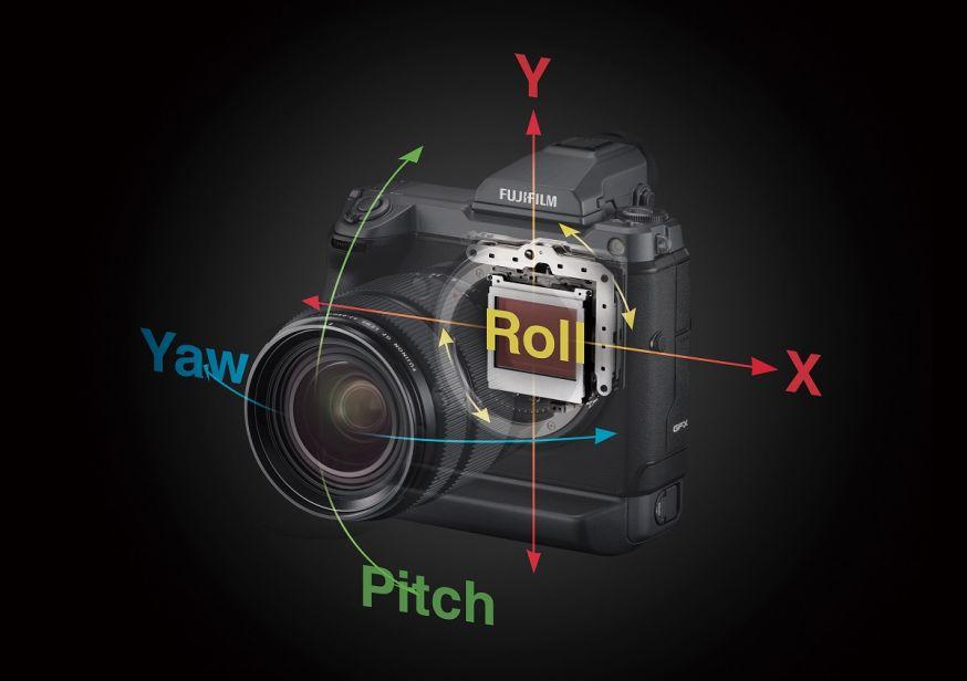 FUJIFILM GFX100 midden formaat camera met beeldstabilisatie
