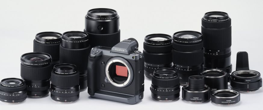 FUJIFILM GFX100 midden formaat camera