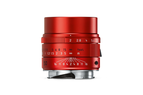 Leica special edition red
