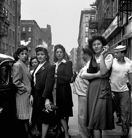 Little Italy, New York 1943 by Fred Stein - JCK