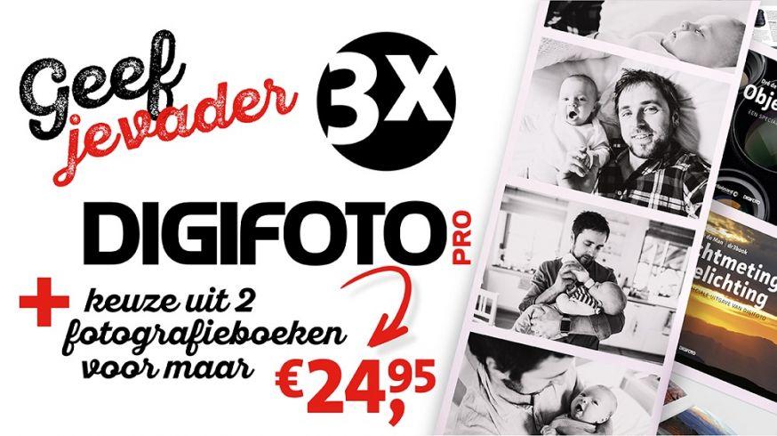 vaderdag, DIGIFOTO Pro, fotomok, abonnement, cadeau, boek, Dré de Man
