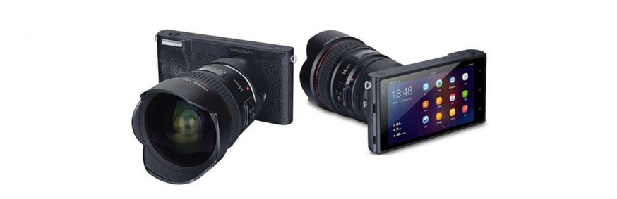 Yongnuo YN450 android camera canon mount