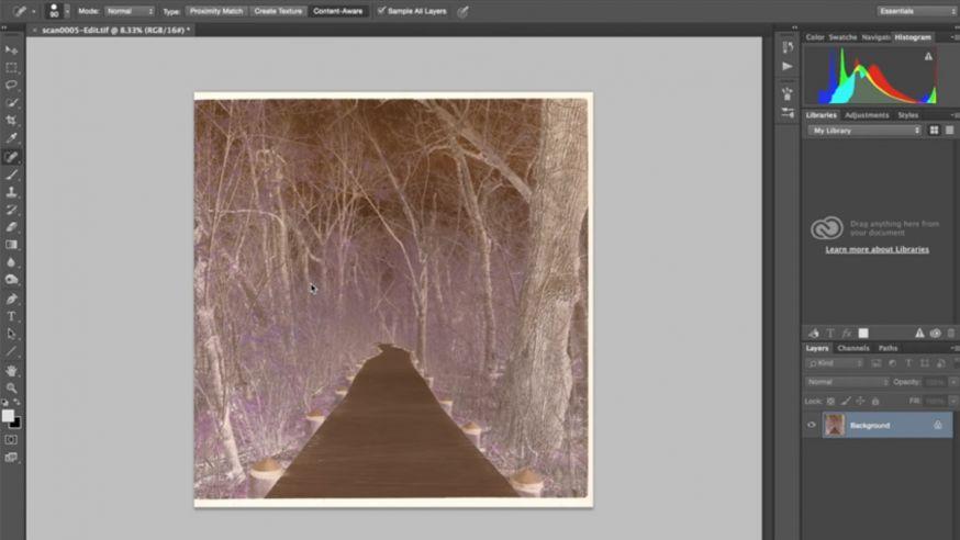 Kleur negatieven bewerken in Photoshop
